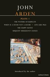 Arden Plays: v. 1 by John Arden image