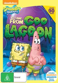 Spongebob Squarepants: It Came From Goo Lagoon on DVD