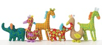 Manhattan: Animal Prints Plush - Yellow Giraffe