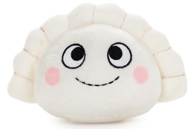 "Yummy World: Dimples Dumpling - 4"" Sushi Plush"