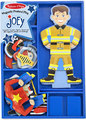 Melissa & Doug: Joey Magnetic Wooden Dress-Up Set