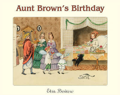 Aunt Brown's Birthday by Elsa Beskow image