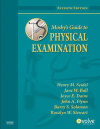 Mosby's Guide to Physical Examination by Henry M Seidel image