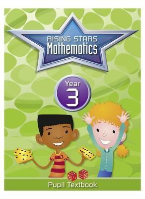 Rising Stars Mathematics Year 3 Textbook by Caroline Clissold image