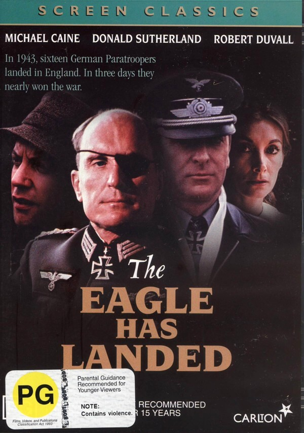 Eagle Has Landed on DVD image
