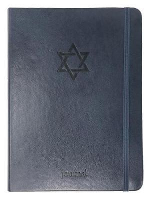 The Star of David Essential Journal (Navy Leatherluxe(r)) by Ellie Claire