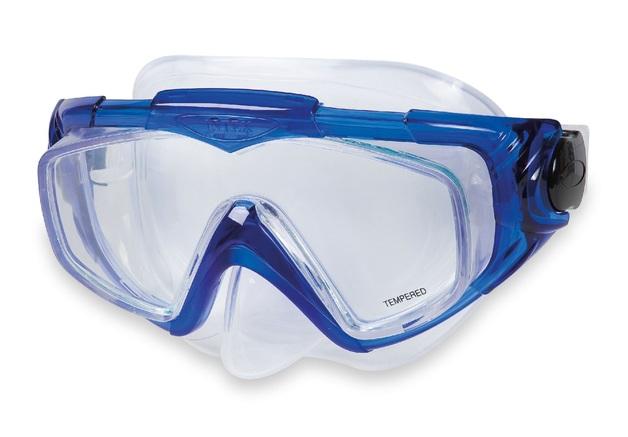 Intex: Aqua Pro - Swim Mask (Blue)