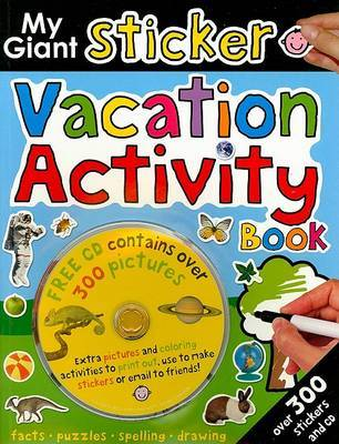 My Giant Sticker Vacation Activity Book image