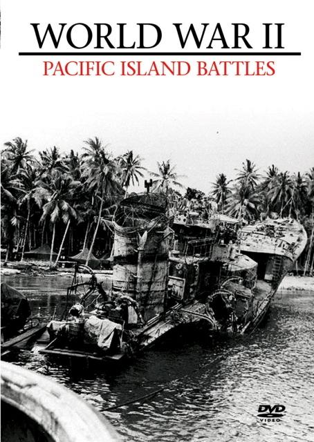 World War II - Island Battles on DVD