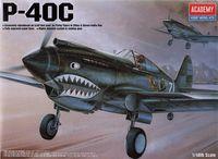Academy Tomahawk P-40C 1/48 Model Kit