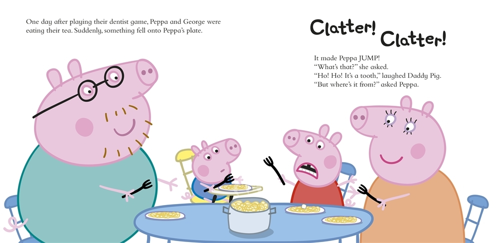 Peppa Pig: Peppa and the Tooth Fairy by Peppa Pig image