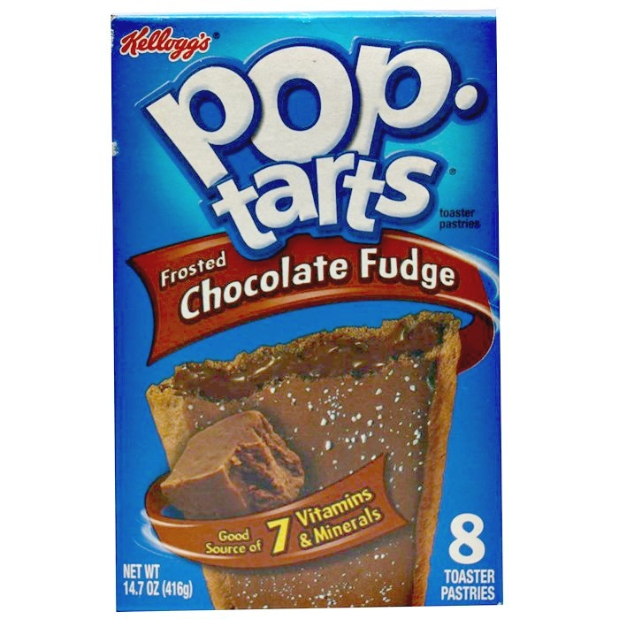 Kellogg's Pop Tarts Frosted Choc Fudge image