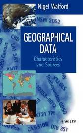 Geographical Data by Nigel Walford
