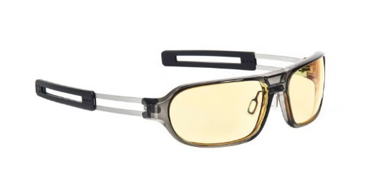 Gunnar Trooper Smoke Amber Gaming Glasses for PC Games image