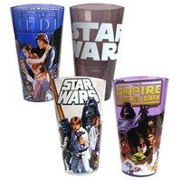 Star Wars: Original Trilogy - 16 oz. Pint Glass 4-Pack