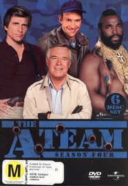 The A-Team - Season 4 (6 Disc Box Set) on DVD image