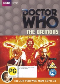 Doctor Who: The Daemons on DVD