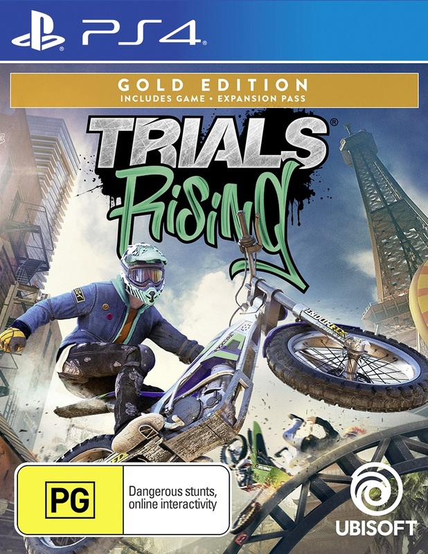 Trials Rising Gold Edition for PS4
