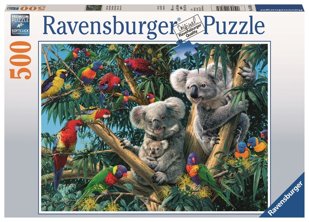 Ravensburger: 500 Piece Puzzle - Koalas in a Tree