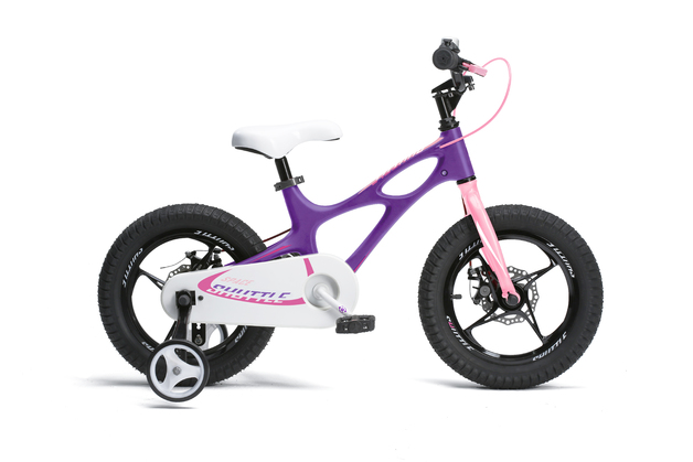 "RoyalBaby: Space Shuttle RB-22 - 14"" Bike (Purple)"