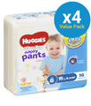 Huggies Ultra Dry Nappy Pants Convenience Value Box - Size 6 Boy 15+ kg (64)