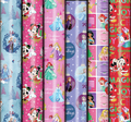 Patelena House: Christmas Roll Wrap - Disney Pink 3M (Assorted Designs)
