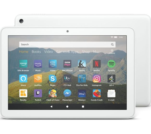 Amazon Fire HD 8 (2020) 32GB Tablet - White