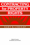 Contracting for Property Rights by Gary D Libecap