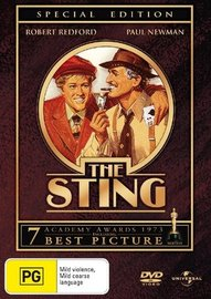 The Sting - Special Edition on DVD image