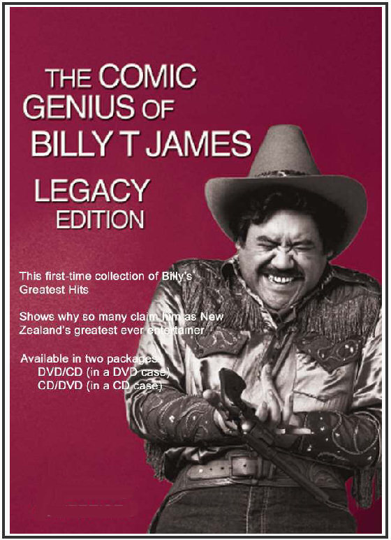 The Comic Genius of Billy T. James Legacy Edition (DVD/CD) on DVD