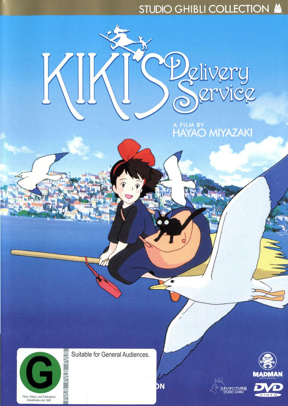 Kiki's Delivery Service on DVD image