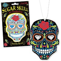 Glow in the Dark Sugar Skull Air Freshener