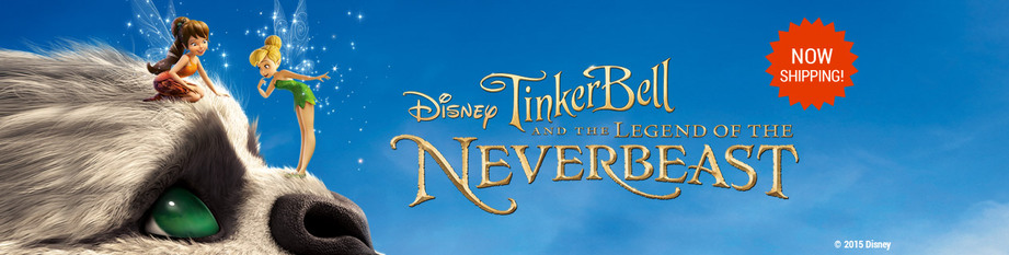 Tinkerbell and the Legend of the Neverbeast Now Shipping
