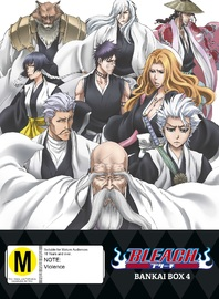 Bleach Bankai: Box 4 (Episodes 304-366) (Limited Edition) on DVD