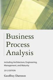 Business Process Analysis by Geoffrey Darnton image