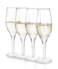 Thumbs Up! Champagne Shot Glass Set