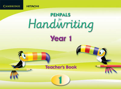 Penpals for Handwriting Year 1 Teacher's Book Enhanced edition by Gill Budgell image