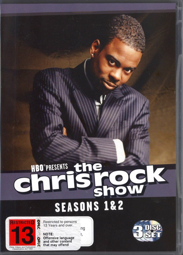 The Chris Rock Show - Seasons 1 And 2 (2 Disc Set) on DVD image