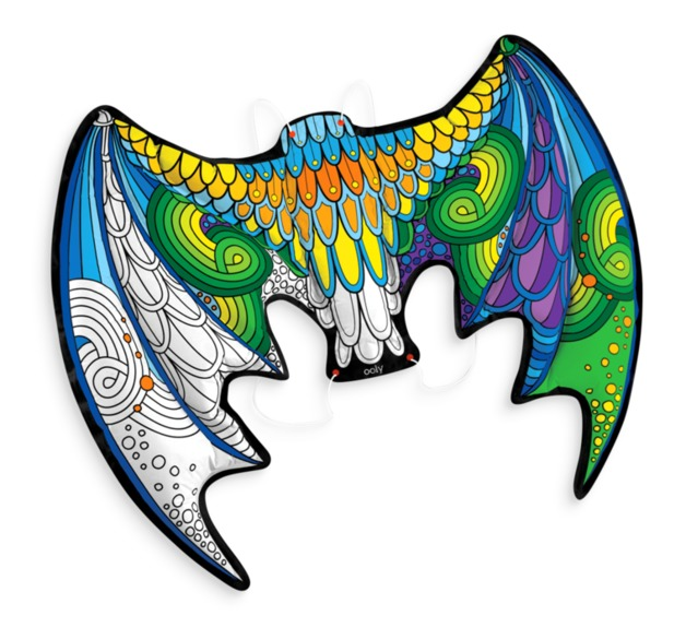 Ooly: 3D Colorables Activity Kit - Dragon Wings