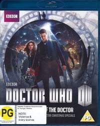Doctor Who: The Time of the Doctor on Blu-ray