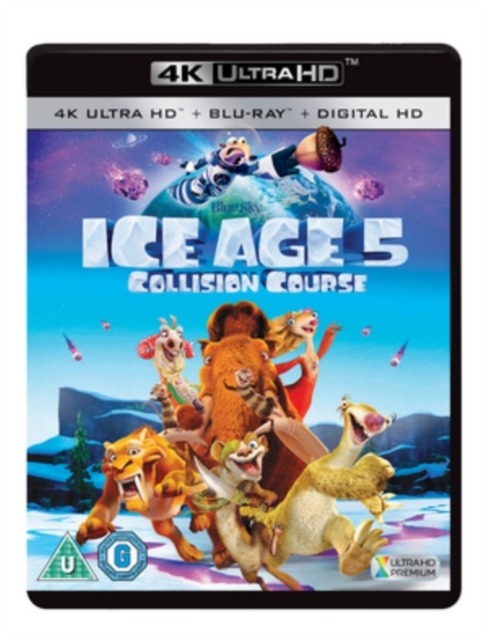 Ice Age: Collision Course on UHD Blu-ray image