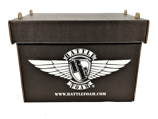 Battle Foam Large Stacker Box (Black)