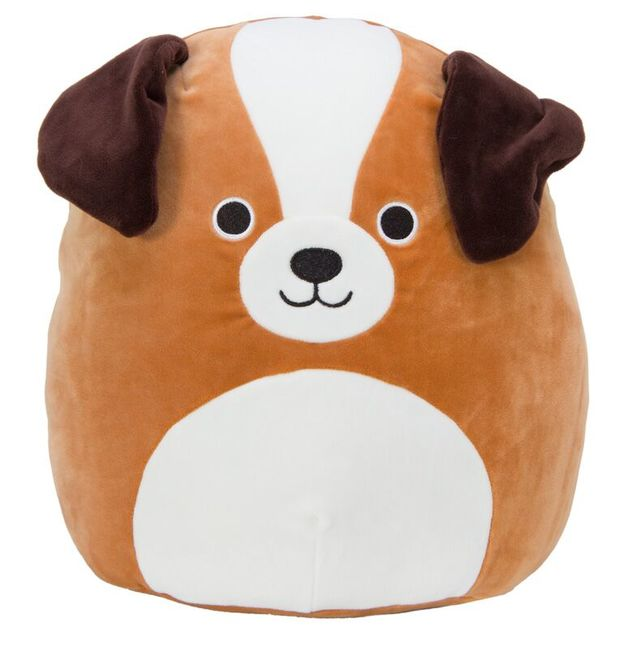 "Squishmallows 12"" Plush - Bernie the St. Bernard"