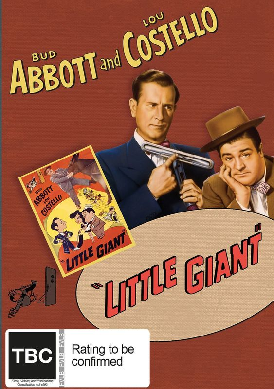 Abbott And Costello: Little Giant on DVD