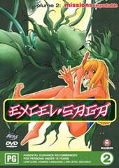 Excel Saga - V2 on DVD