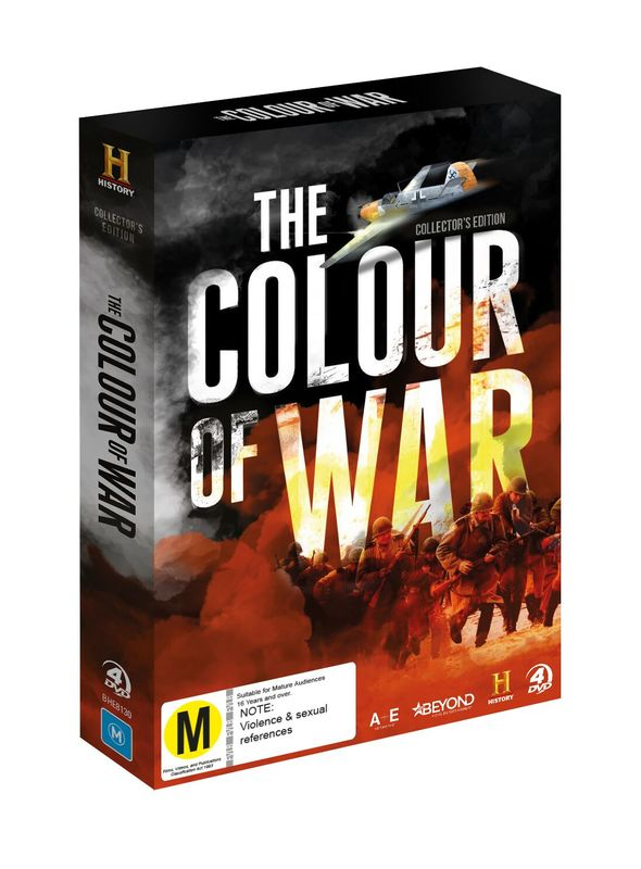 The Colour Of War Collector's Edition on DVD
