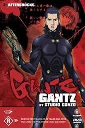 Gantz - Vol 2 - Aftershocks on DVD