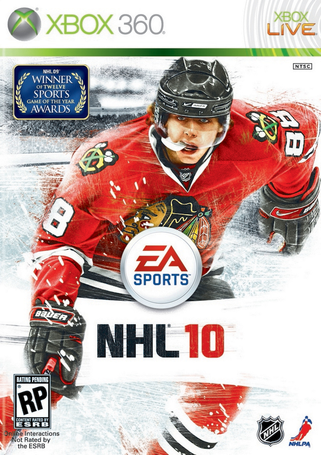 NHL 10 for Xbox 360 image