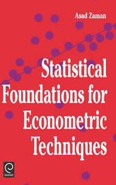 Statistical Foundations for Econometric Techniques image