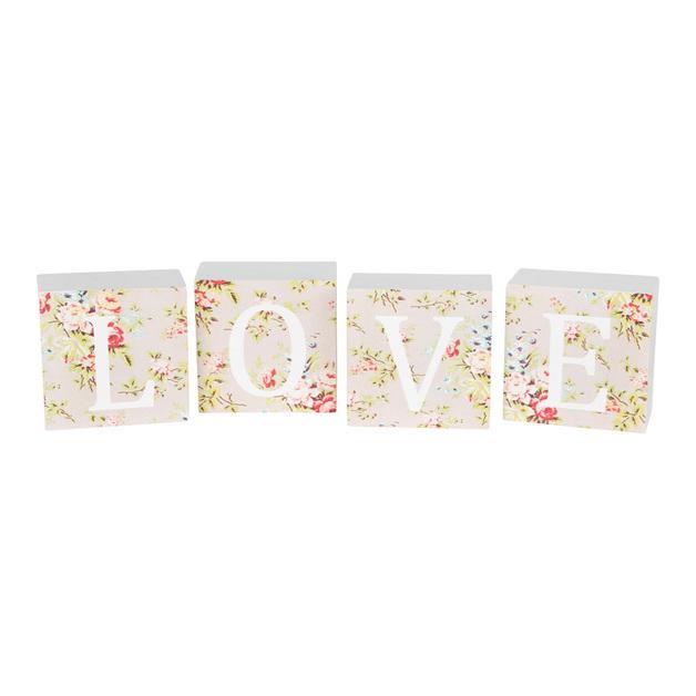 Love Block Letters: Lady Vivienne (Set Of 4)
